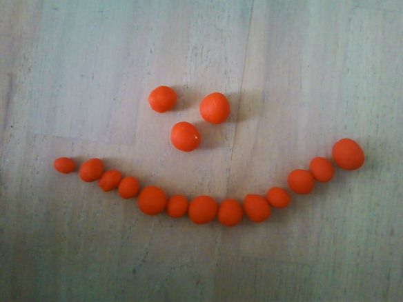 (Artist: Mbot. Medium: Play-Doh.)